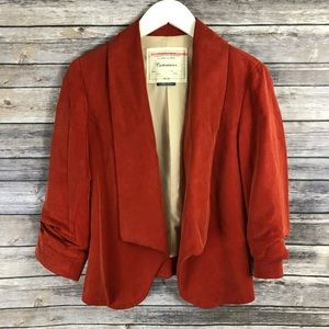Cartonnier Anthropologie Open Front Blazer